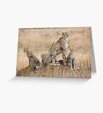 Family Portrait  Greeting Card