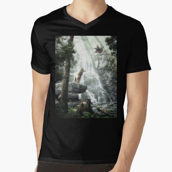 Three Friends, Three Clans V-Neck T-Shirt