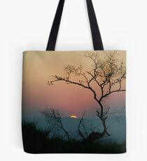Tree Watching The Perfect Sunset Tote Bag