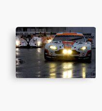 Race In The Rain Canvas Print