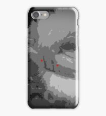 """Shame on Devil Cat"" by Richard F. Yates iPhone Case/Skin"