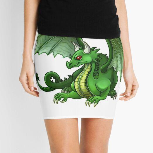 green dragon sat Mini Skirt