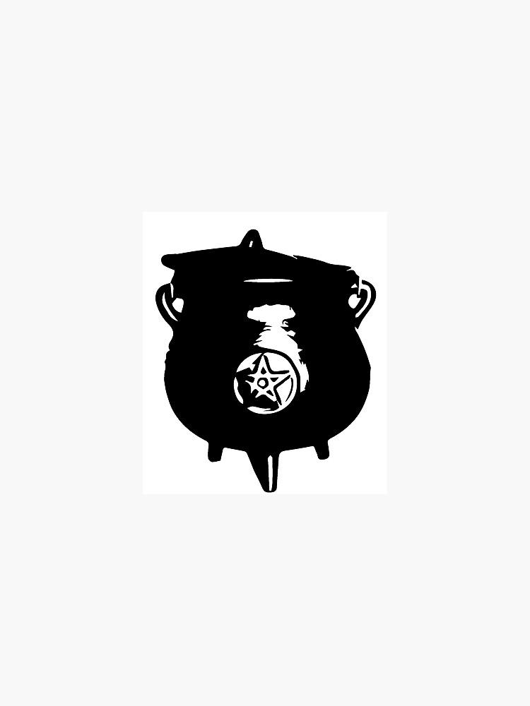 witch cauldron by kajsabl