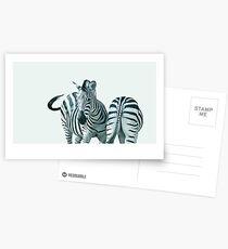 Monochrome - contrasts Postcards