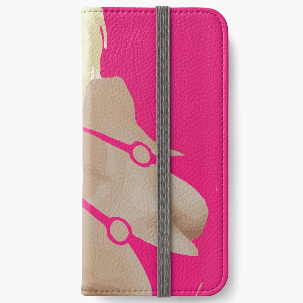imvu girl in pink bikini iPhone Wallet