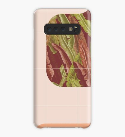 Mid-Century Tropical Way #redbubble #tropical Case/Skin for Samsung Galaxy