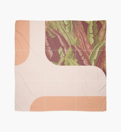 Mid-Century Tropical Way #redbubble #tropical Scarf