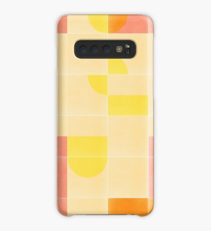 Retro Tiles 01 #redbubble #pattern Case/Skin for Samsung Galaxy