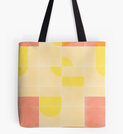 Retro Tiles 01 #redbubble #pattern Tote Bag