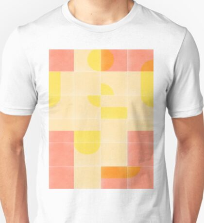Retro Tiles 01 #redbubble #pattern T-Shirt