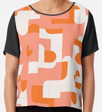 Puzzle Tiles #redbubble #pattern Chiffon Top