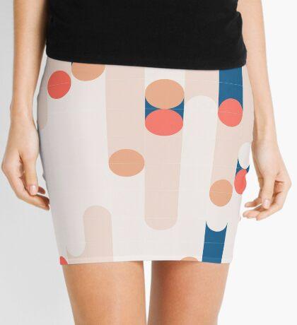 The Sound Of Tiles #redbubble #pattern Mini Skirt