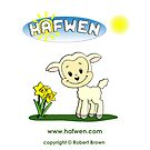 Hafwen The Little Welsh Lamb by RBANIMATION