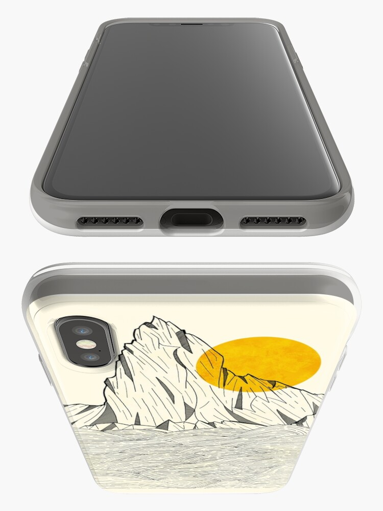Alternate view of Sun Cliffs iPhone Cases & Covers