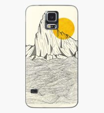 Funda/vinilo para Samsung Galaxy Sun Cliffs