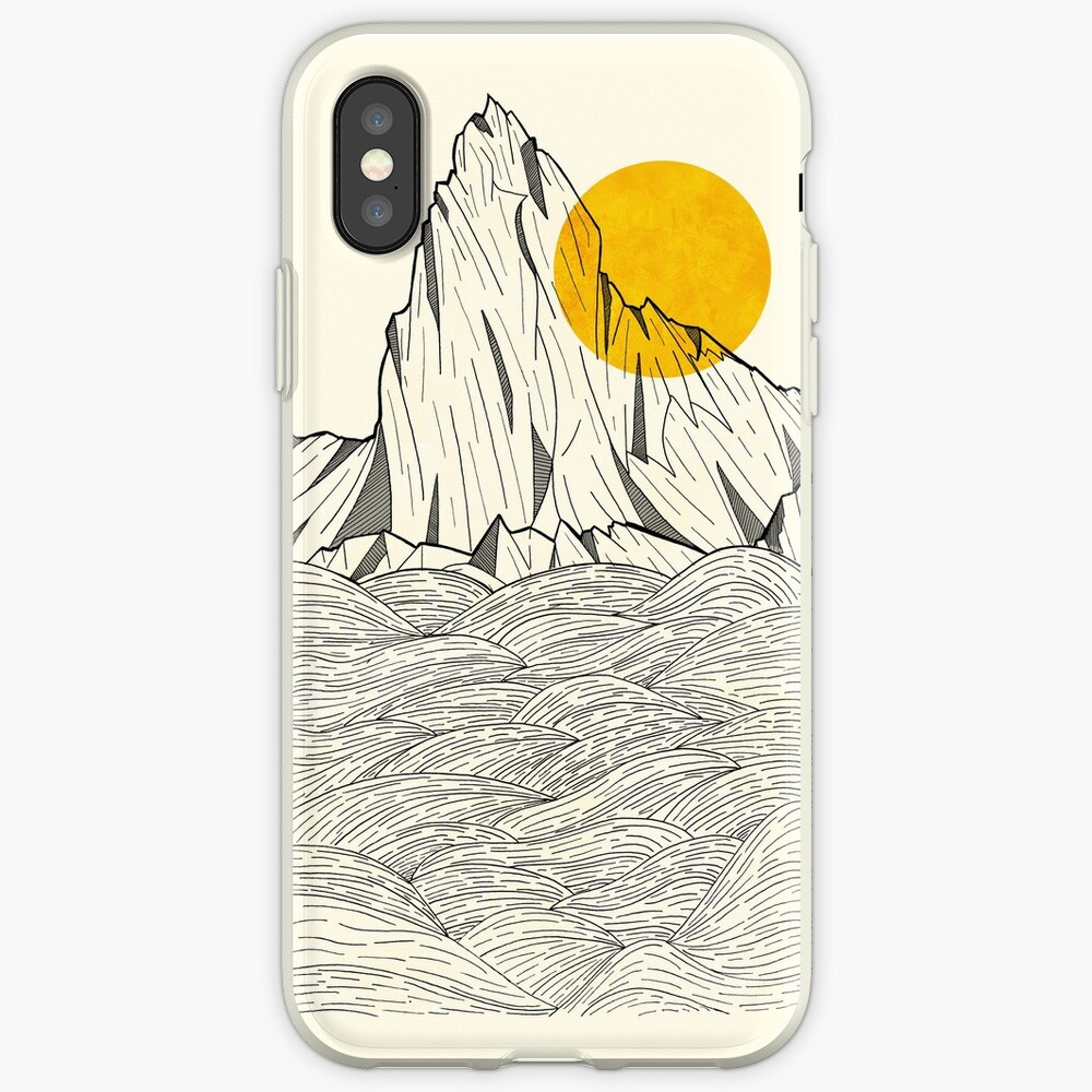 Sun Cliffs iPhone Cases & Covers