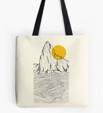 Sun Cliffs Tote Bag
