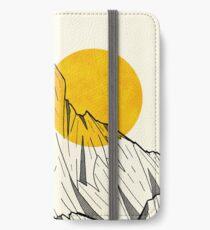 Sonnen Klippen iPhone Flip-Case/Hülle/Klebefolie