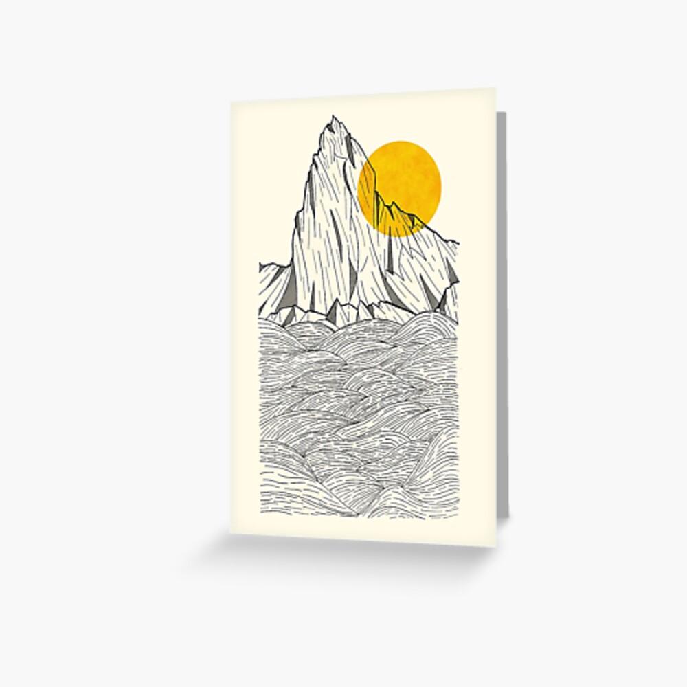 Sun Cliffs Greeting Card