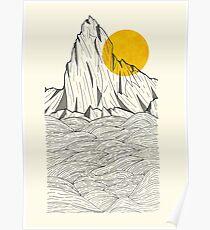 Póster Sun Cliffs