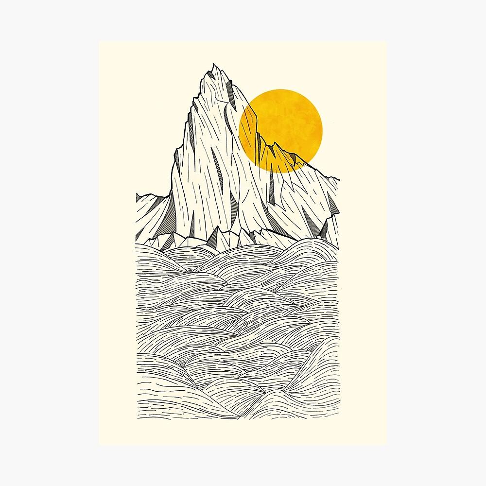 Sun Cliffs Photographic Print