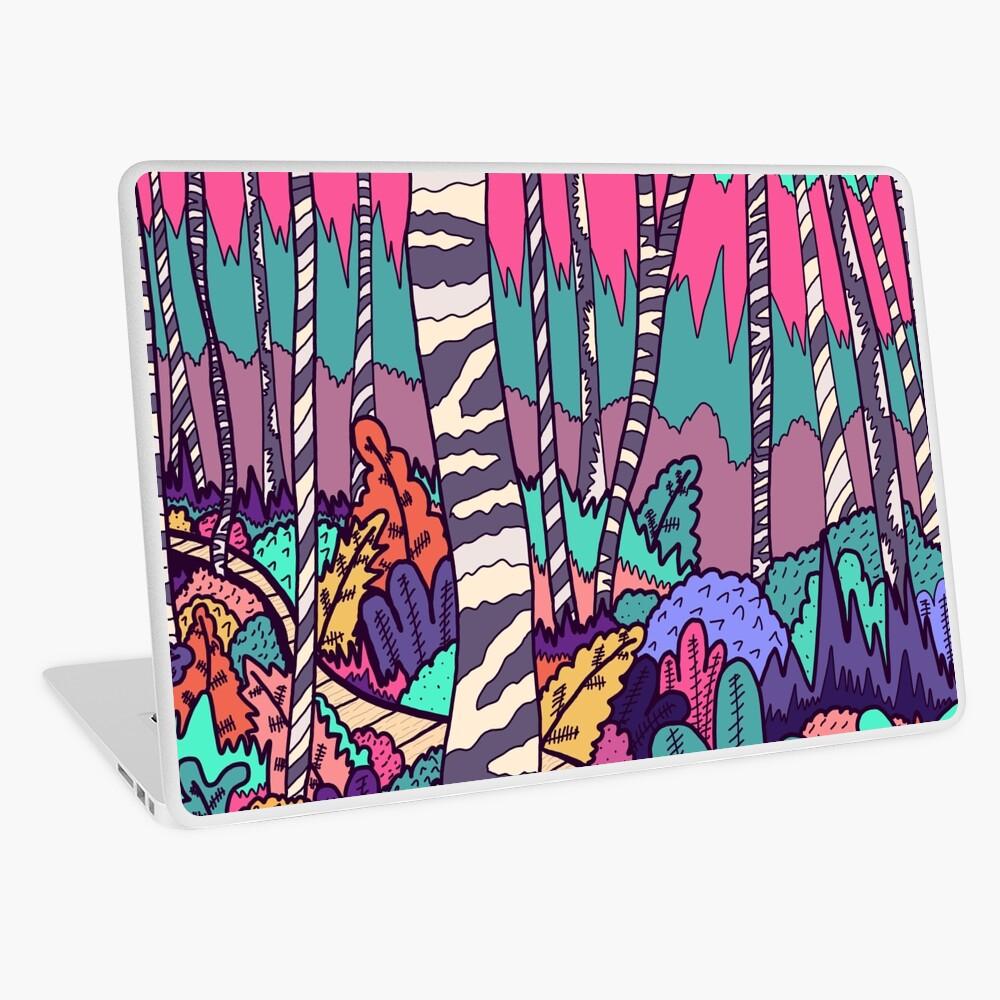 The woodland walk Laptop Skin