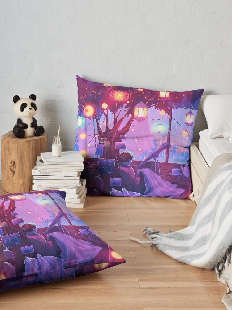 Alternate view of little hideout Floor Pillow