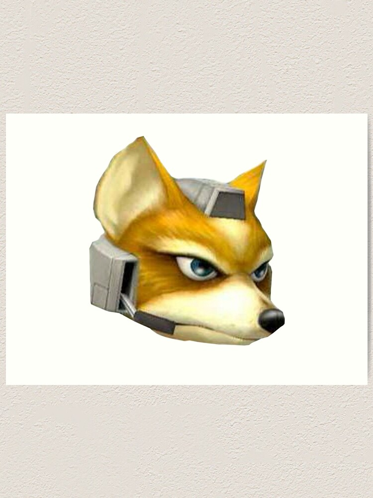 Fox Mccloud Art Print