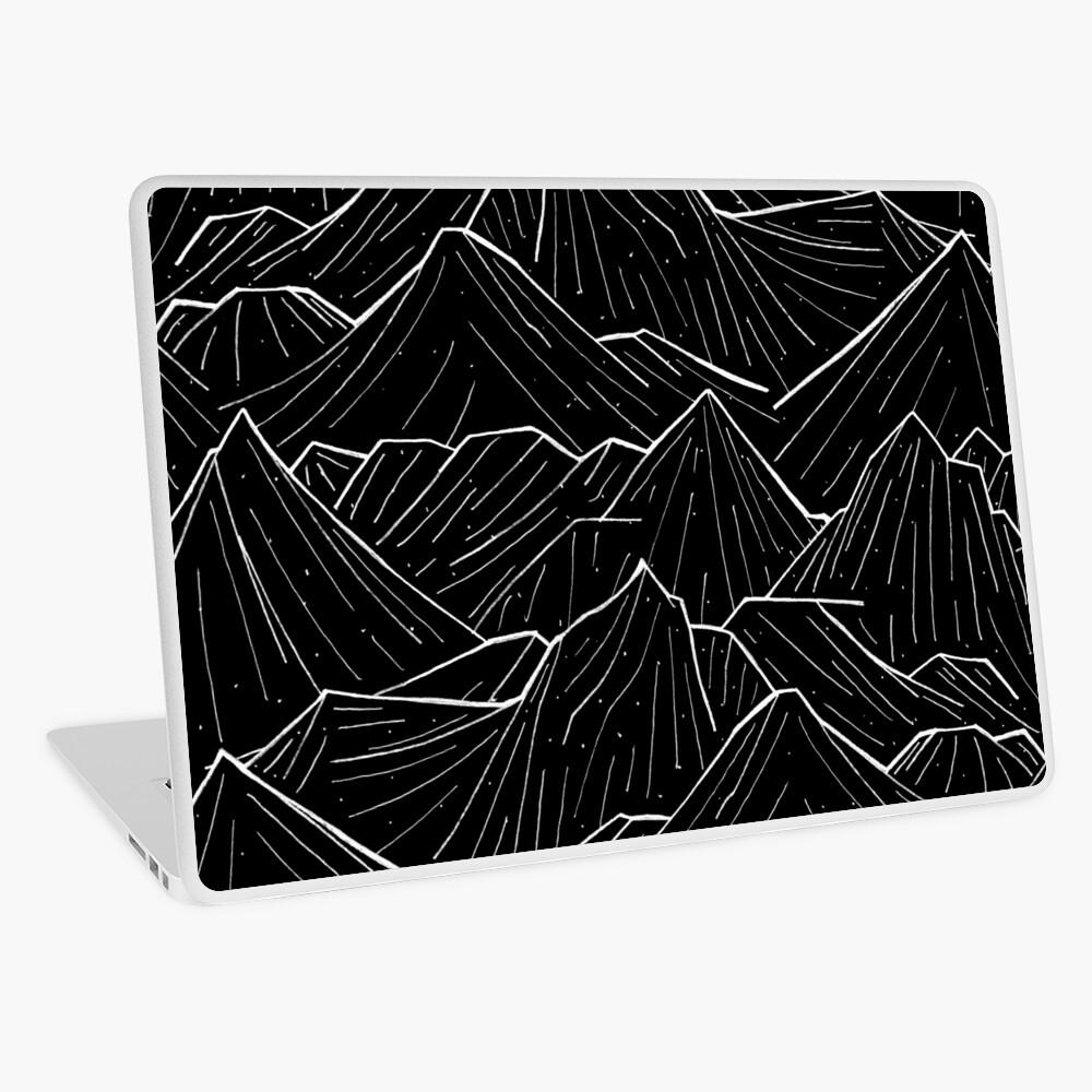 The Dark Mountains Laptop Skin
