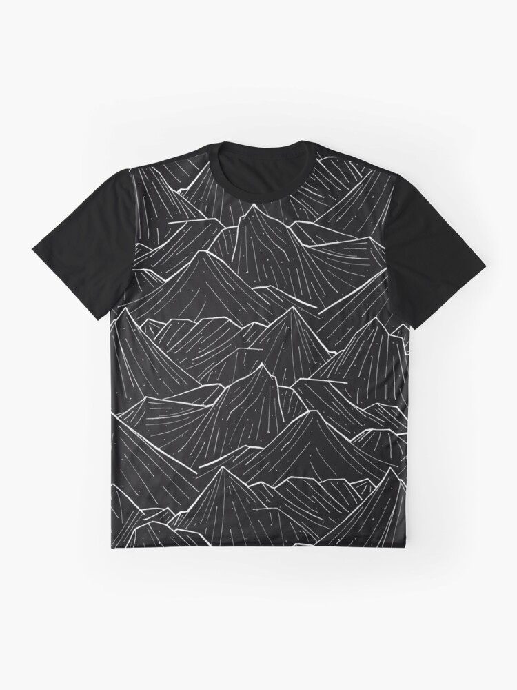 Alternate view of The Dark Mountains Graphic T-Shirt