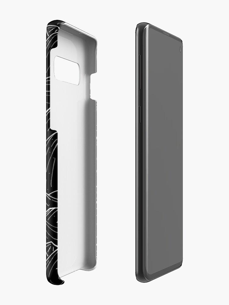 Alternate view of The Dark Mountains Case & Skin for Samsung Galaxy
