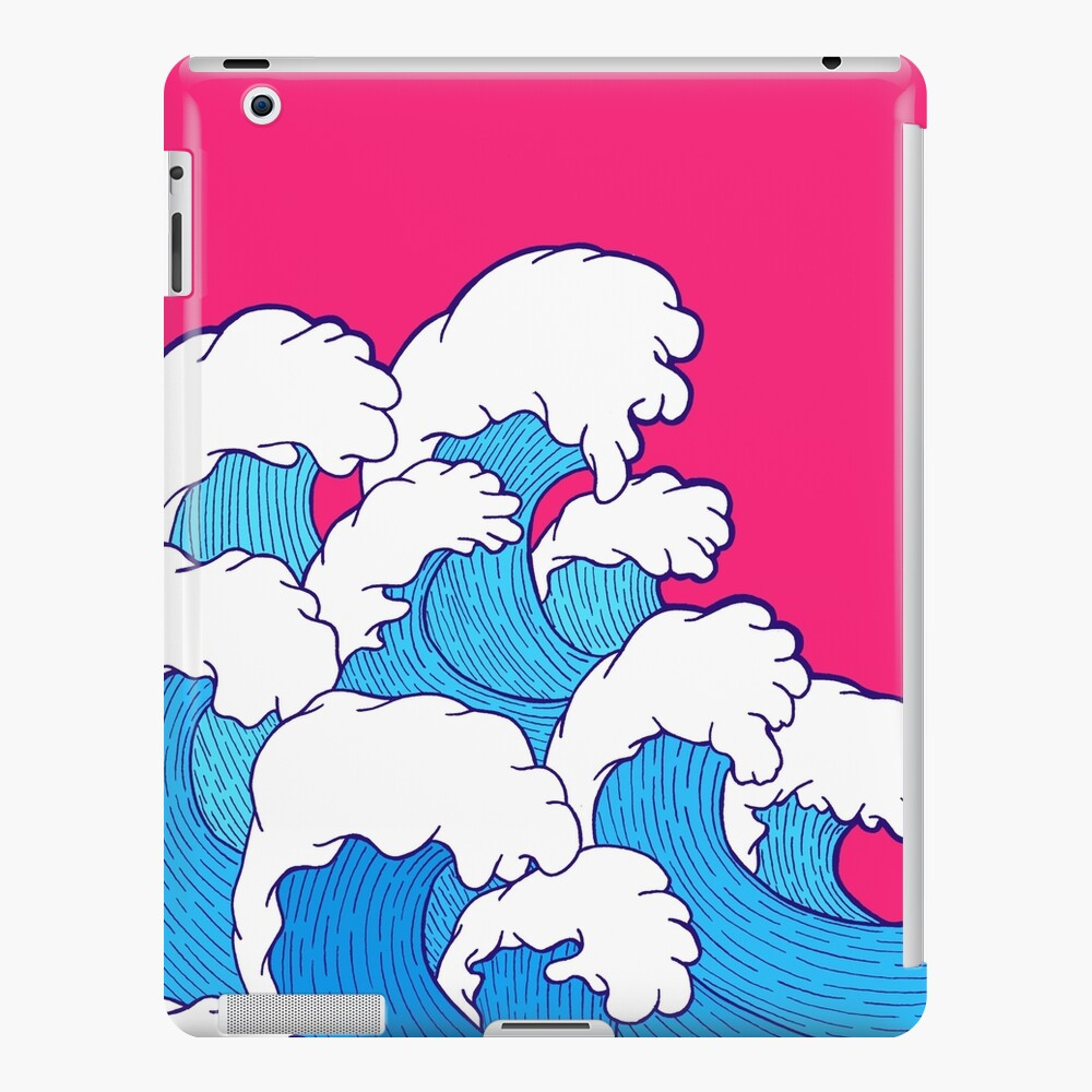 As the waves roll in iPad Case & Skin
