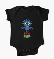 Evil Eye - two  One Piece - Short Sleeve