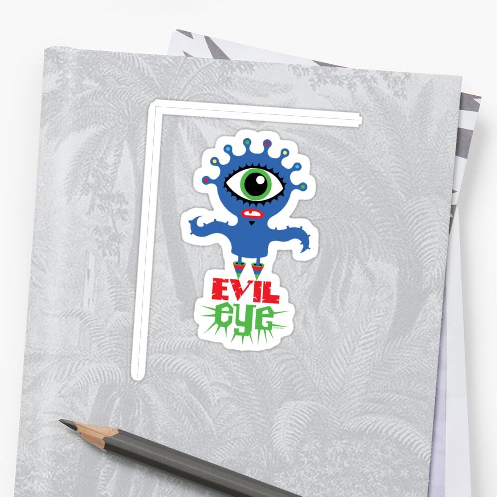 Evil Eye - two  by Andi Bird