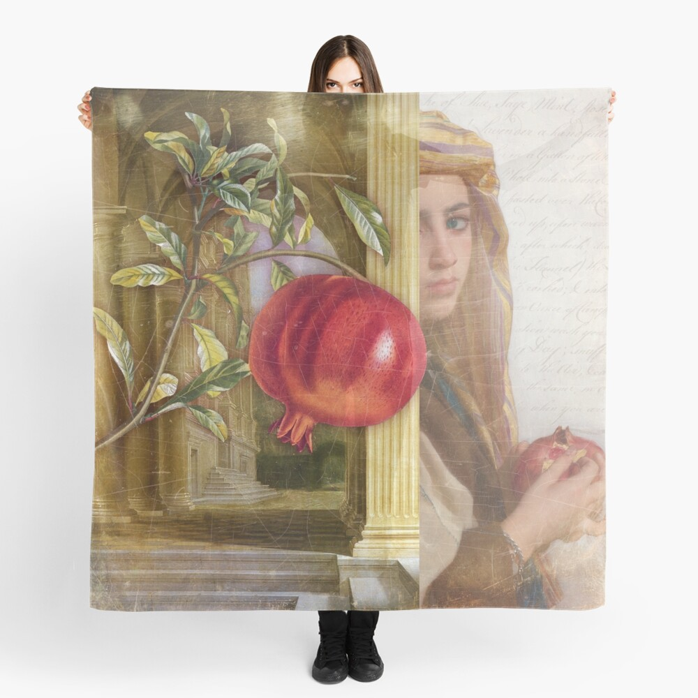 The Pomegranate Eater Scarf