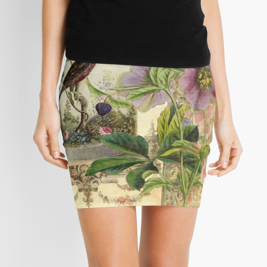 The Pet Bird Mini Skirt
