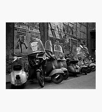 Vespas, Roma Photographic Print