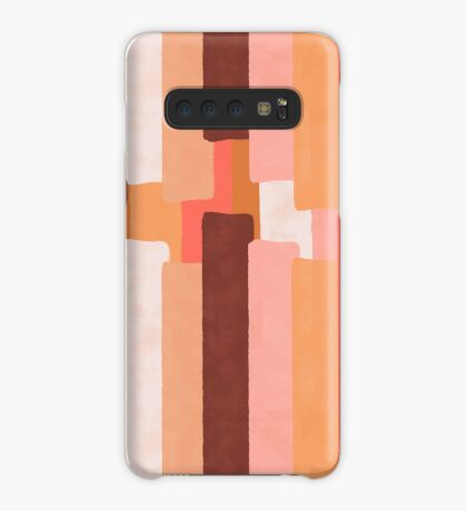 Line In Coral #redbubble #abstractart Case/Skin for Samsung Galaxy