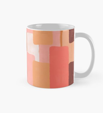 Line In Coral #redbubble #abstractart Mug