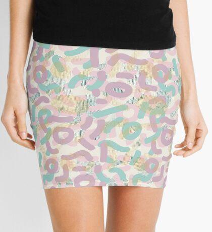 Funny Mess #redbubble #abstractart Mini Skirt