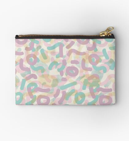 Funny Mess #redbubble #abstractart Zipper Pouch