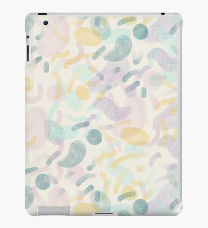 Dotted Blobs #redbubble #abstractart iPad Case/Skin