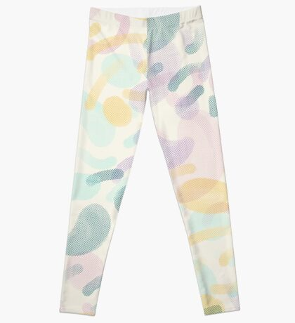 Dotted Blobs #redbubble #abstractart Leggings