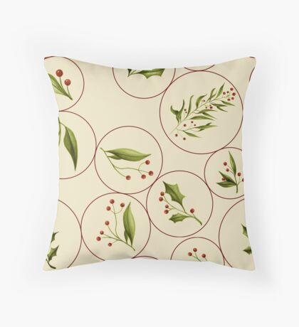 Vintage Baubles #redbubble #xmas Floor Pillow