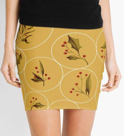 Cozy Baubles #redbubble #xmas Mini Skirt