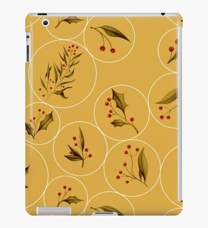 Cozy Baubles #redbubble #xmas iPad Case/Skin
