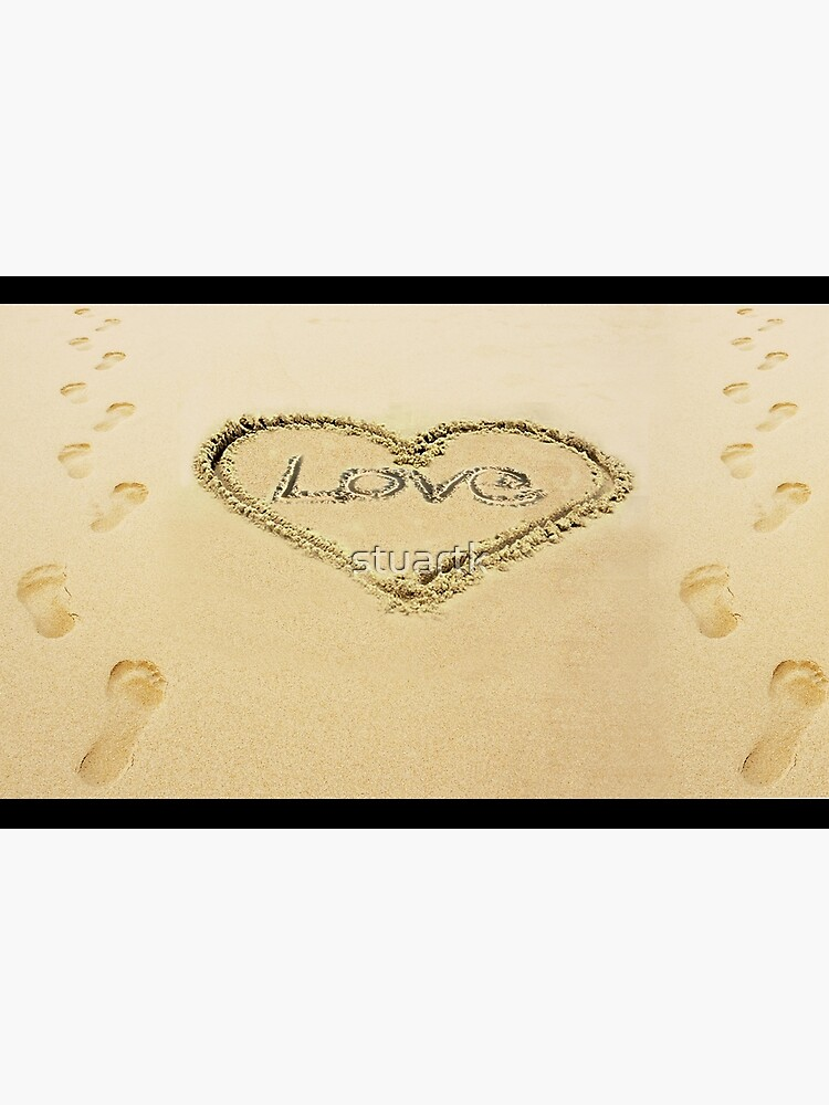 Love Heart in the Sand  by stuartk