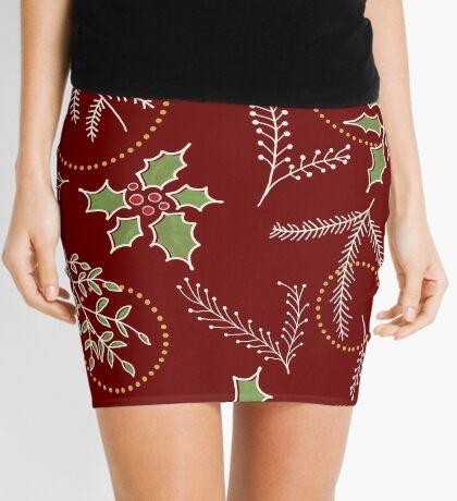 Classic Xmas #redbubble #xmas Mini Skirt