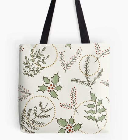 Classic Winter #redbubble #xmas Tote Bag
