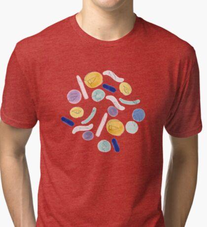 Naive Portraits #redbubble #figurative Tri-blend T-Shirt